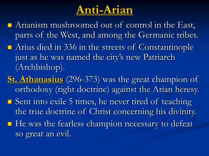 Anti-Arian