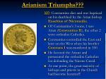 arianism triumphs