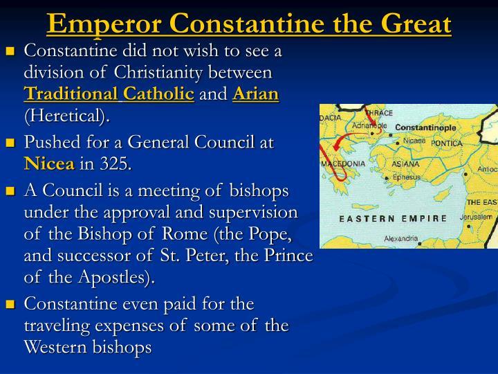 Emperor Constantine the Great