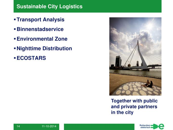 Sustainable City Logistics