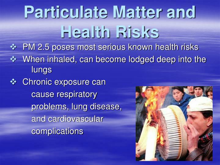 Particulate Matter and