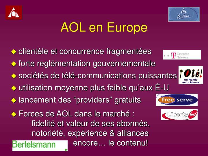 AOL en Europe