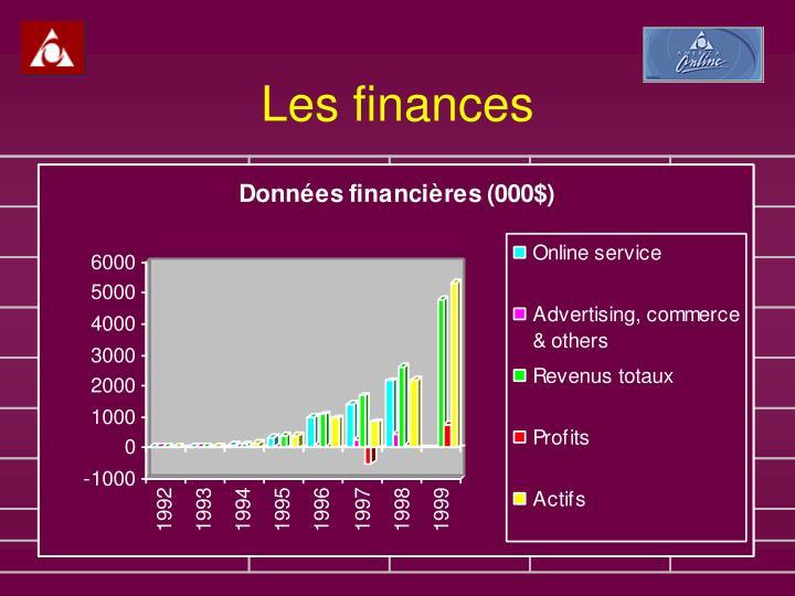 Les finances