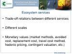 ecosystem services6