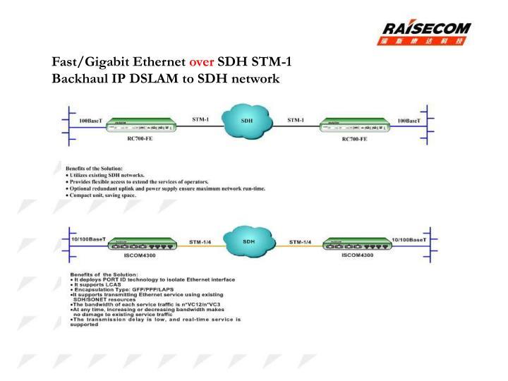 Fast/Gigabit Ethernet