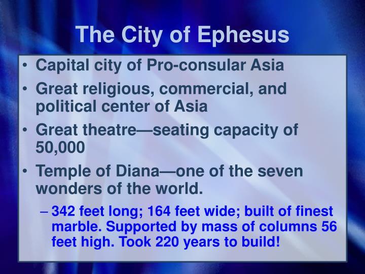 The City of Ephesus