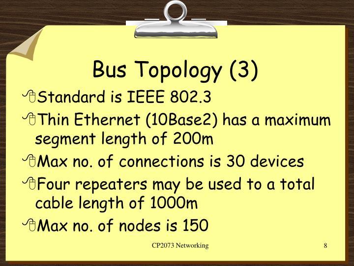 Bus Topology (3)
