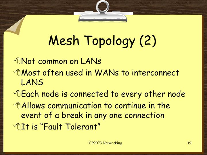 Mesh Topology (2)