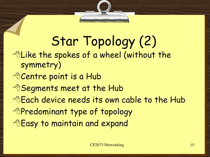 Star Topology (2)