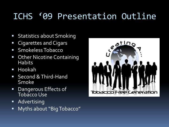 ICHS '09 Presentation Outline