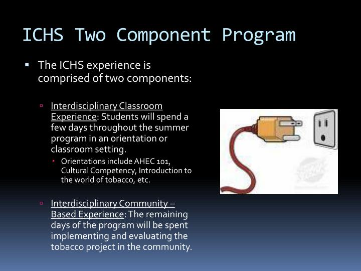 ICHS Two Component Program