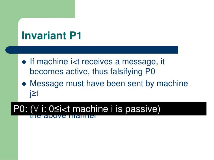 Invariant P1