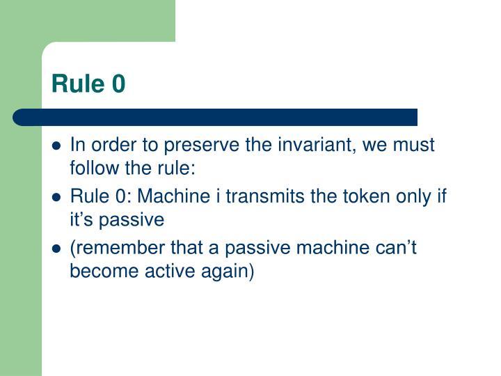 Rule 0