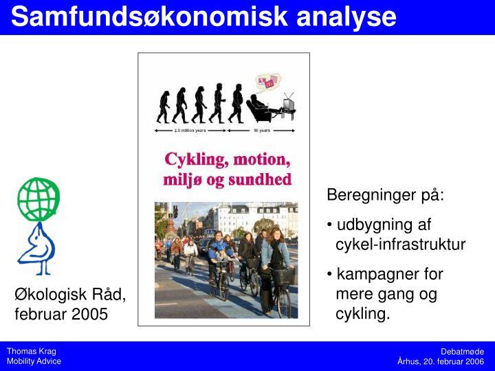 Samfundsøkonomisk analyse