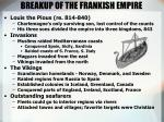 breakup of the frankish empire