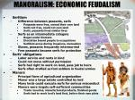 manoralism economic feudalism
