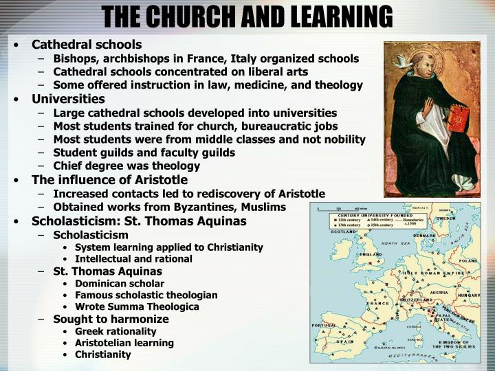 THE CHURCH AND LEARNING