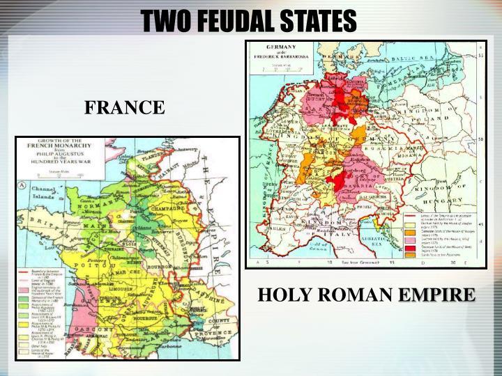 TWO FEUDAL STATES