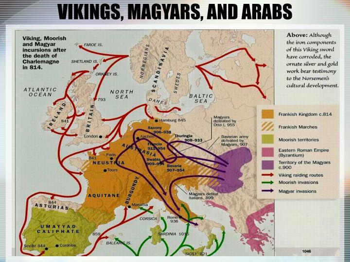 VIKINGS, MAGYARS, AND ARABS
