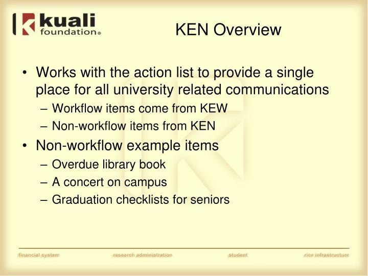 KEN Overview