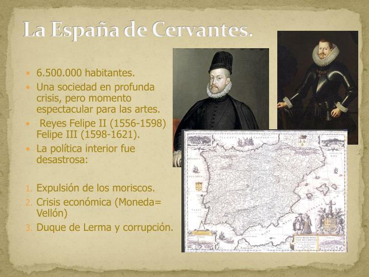 La España de Cervantes.