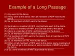 example of a long passage1