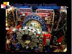 collider detector at fermilab