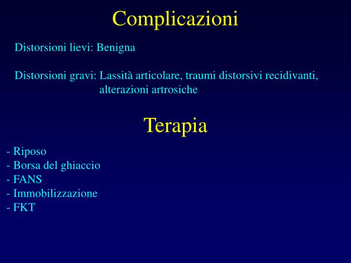Complicazioni