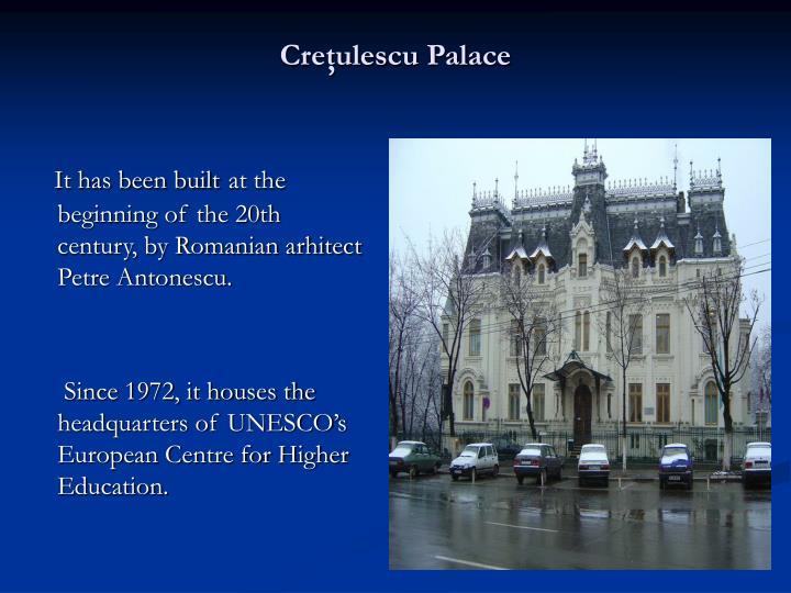 Creţulescu Palace