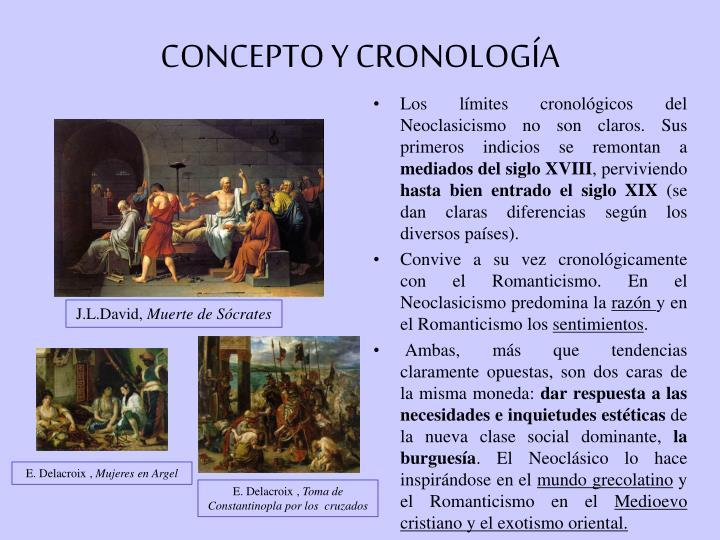 CONCEPTO Y CRONOLOGÍA