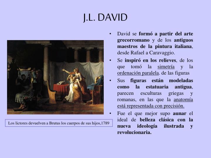 J.L. DAVID