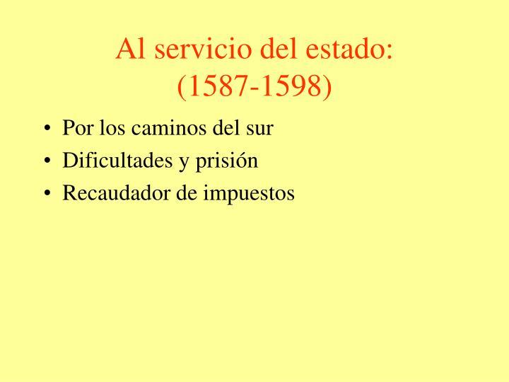 Al servicio del estado: