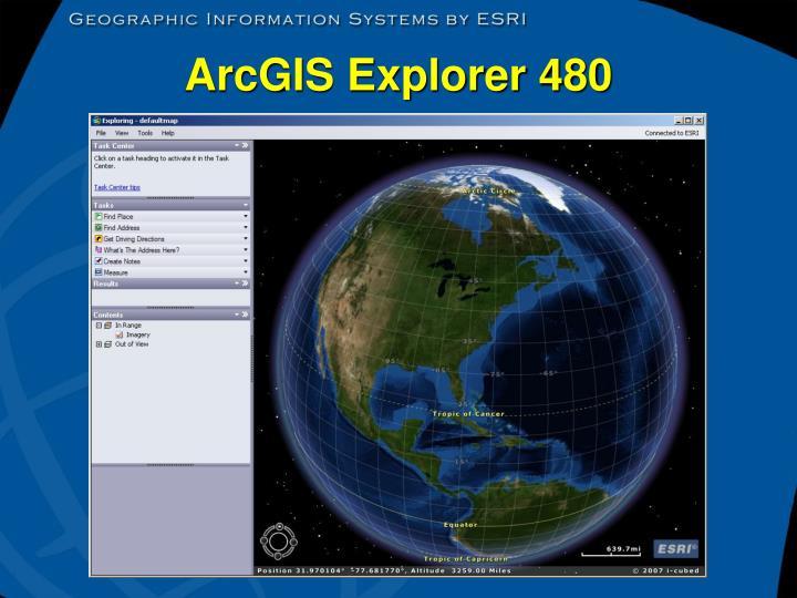 ArcGIS Explorer 480