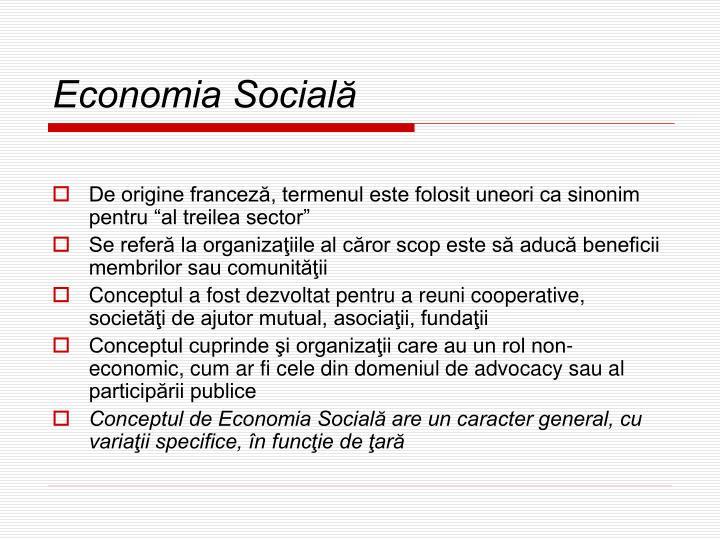 Economia Socială
