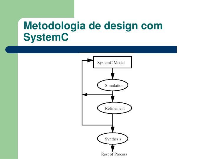 Metodologia de design com SystemC