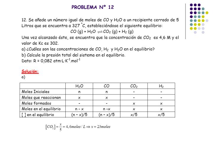 PROBLEMA Nº 12