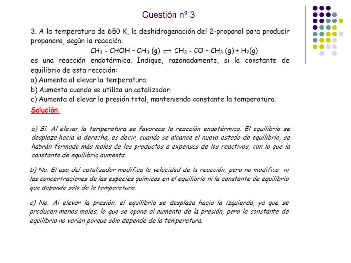 Cuestión nº 3