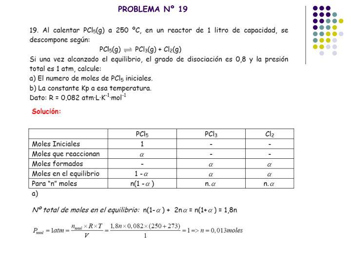 PROBLEMA Nº 19