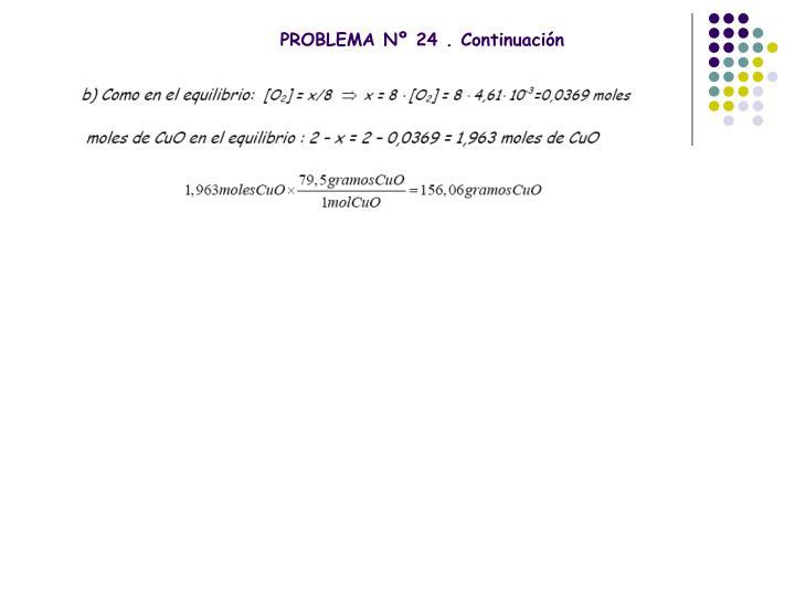 PROBLEMA Nº 24 . Continuación