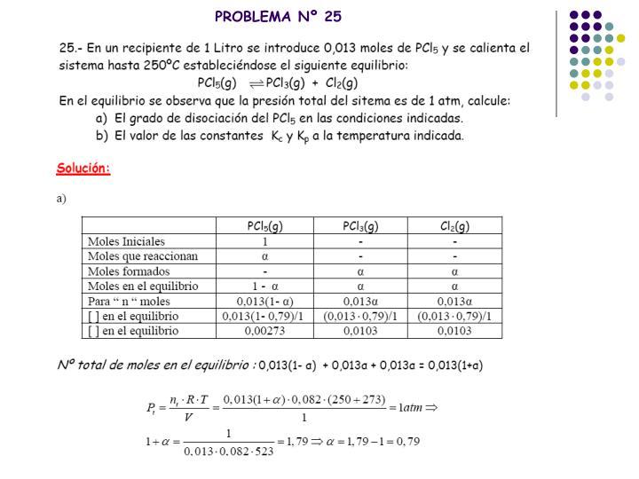 PROBLEMA Nº 25