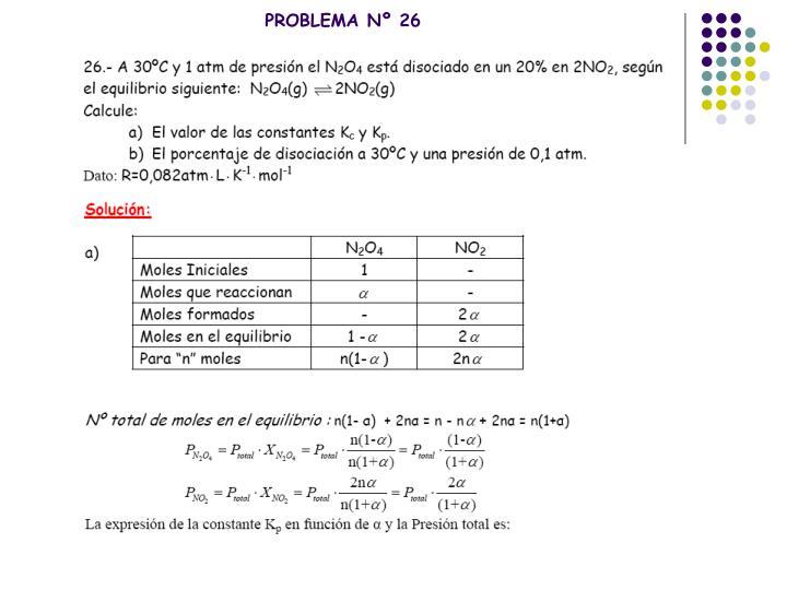 PROBLEMA Nº 26