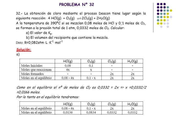 PROBLEMA Nº 32