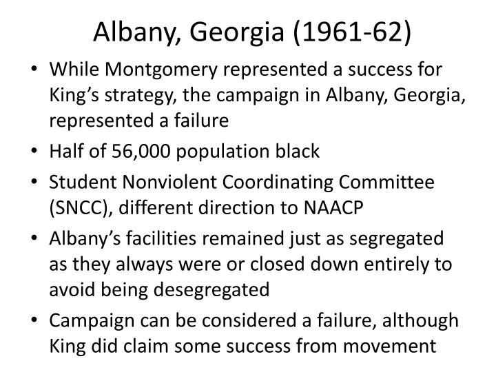 Albany, Georgia (1961-62)
