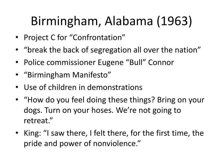 Birmingham, Alabama (1963)