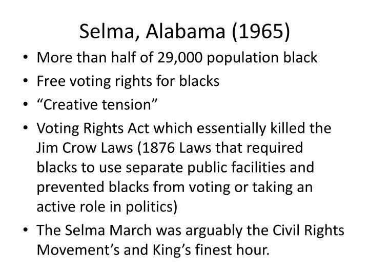 Selma, Alabama (1965)