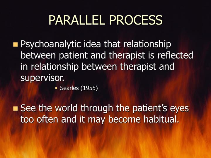 PARALLEL PROCESS