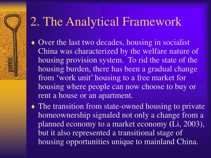 2. The Analytical Framework