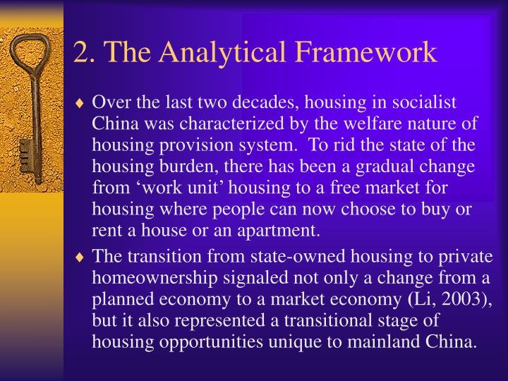 2. The Analytical Framework