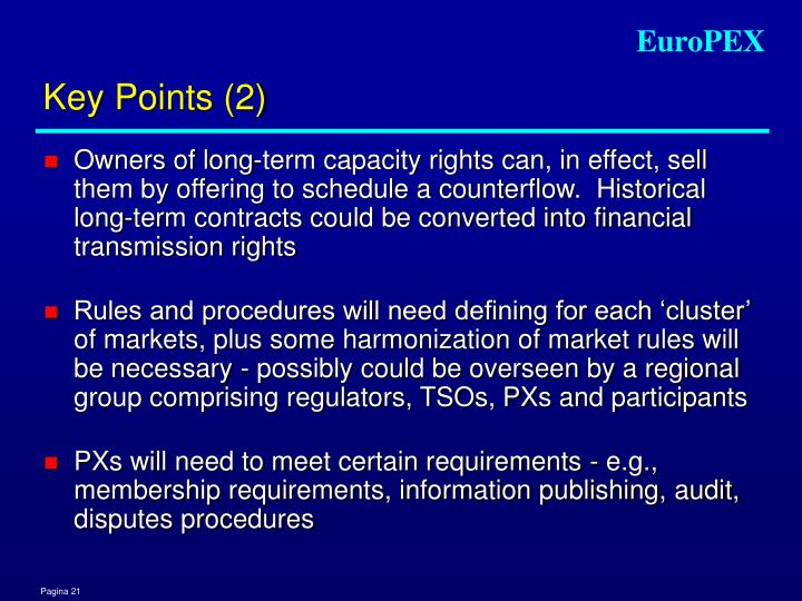 Key Points (2)
