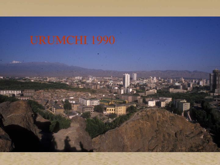 URUMCHI 1990
